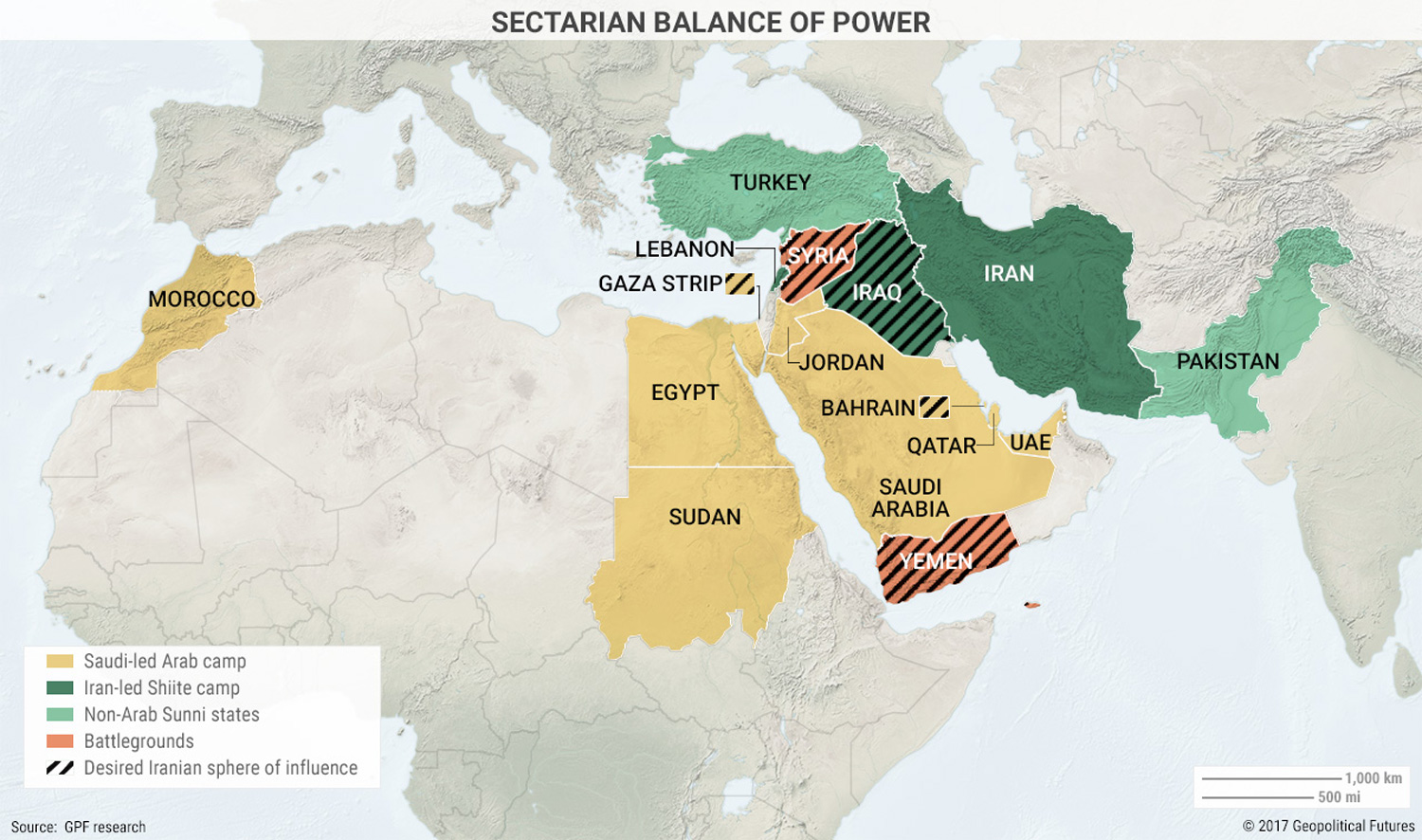 5 Maps That Explain The Modern Middle East Zero Hedge
