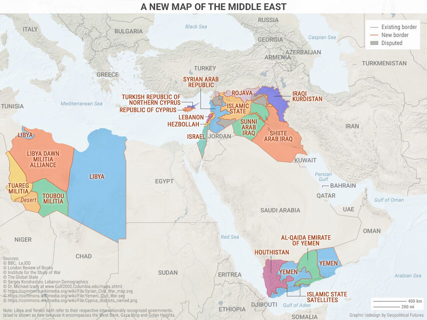 5 Maps That Explain The Modern Middle East | Zero Hedge