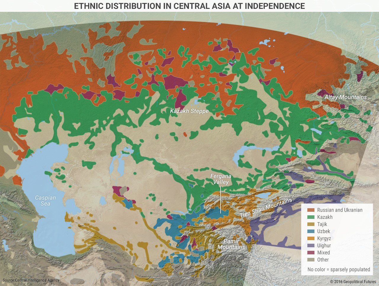 4 maps that signal central asia is at risk of war editorial ethnic uzbeks make up about 14 of kyrgyzstan and over 13 of tajikistan central asia is a region of great ethnic and regional stress gumiabroncs Choice Image