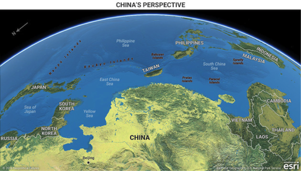 Graphics That Explain USChina Relations Editorial Investment - Earth map us china