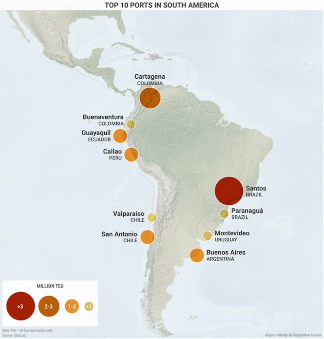 3 Maps That Explain Why South America Is Politically Isolated