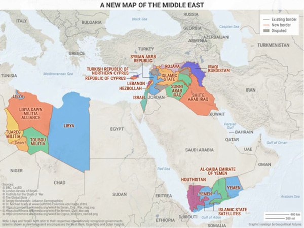 These 4 Maps Show The Geopolitical Hotspots of 2017 Editorial