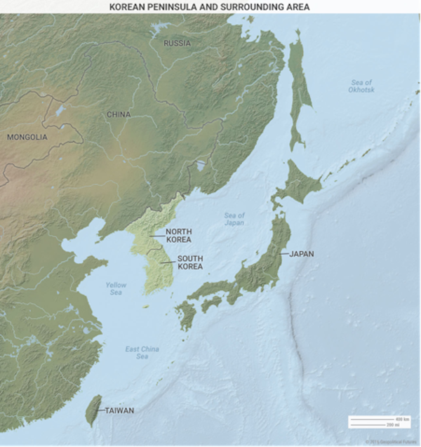Five maps that show chinas biggest limitations valuewalk when we wrote about the north korean strategy we said that north korea appears dangerous with its nuclear weapons tests and its sly bigoted strongman gumiabroncs Image collections