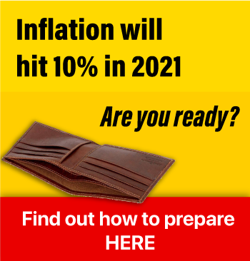 Inflation will hit 10% in 2021. Are you ready?
