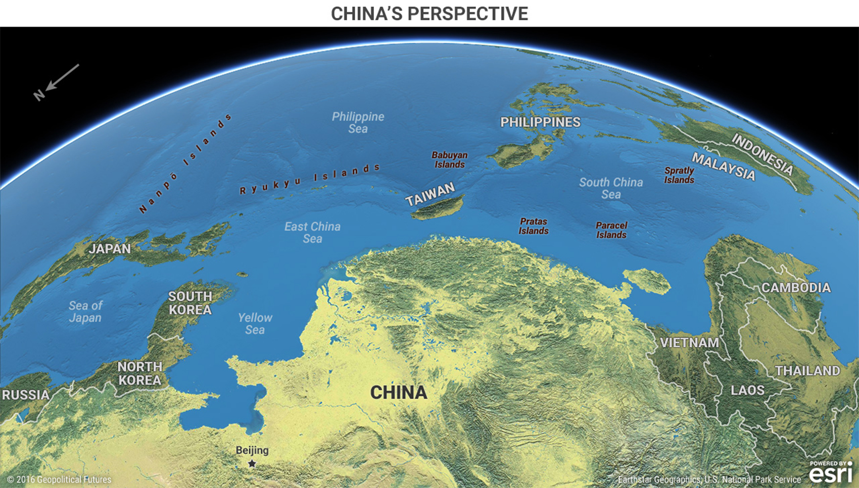 The geopolitics of 2017 in 4 maps this week in geopolitics maps that shift perspective can be disorienting but they are meant to be our minds get so used to seeing the world in one way that a different view can gumiabroncs Image collections