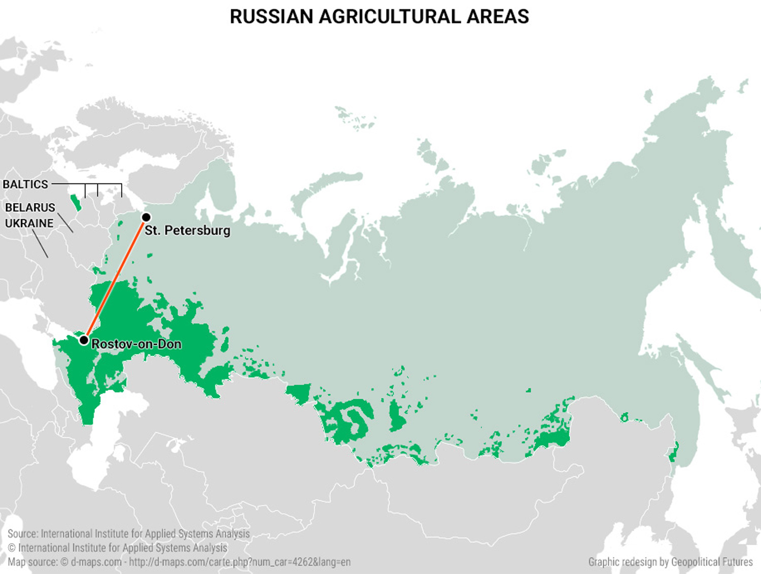 Mapping Russias Strategy This Week in Geopolitics Investment