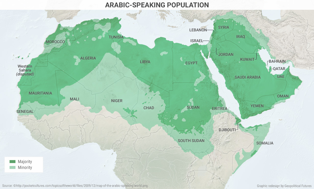 4 Maps That Explain Wars In The Middle East And North Africa ...