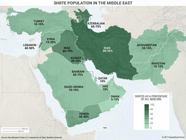 5 Maps That Explain The Modern Middle East | Mauldin Economics