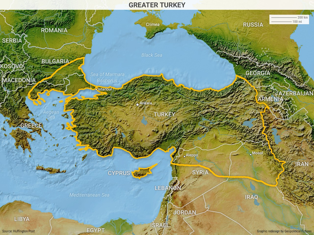 Why Turkey Can't Stay Out Of Syria on