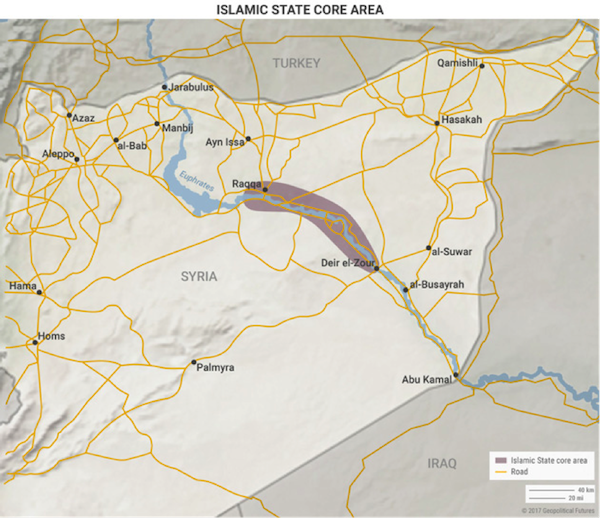 3 Maps That Explain Why The Raqqa Battle Will Drag On | Editorial ...