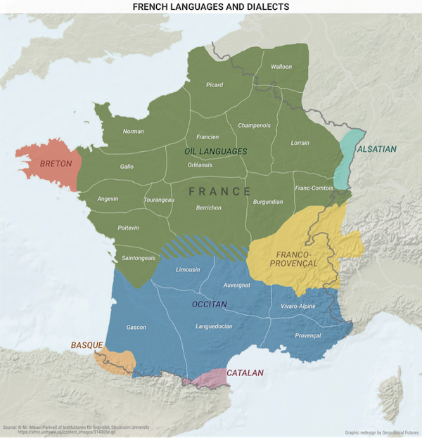 World explained in maps French Nationalism World explained in maps - French Nationalism