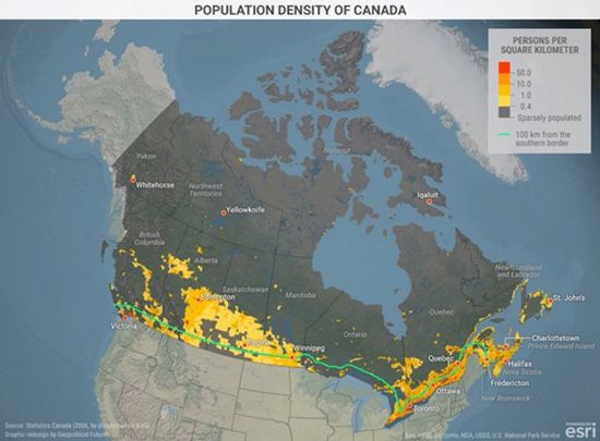 Canada\'s Geographical Reality | This Week in Geopolitics Investment ...