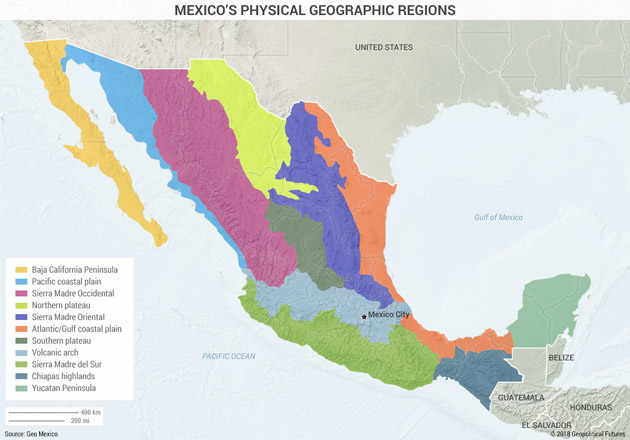 The Places Mexico's Government Can Hardly Reach | Mauldin ... on mexican states, map of mexico's major cities, the mexico map without states, map mexico states list,