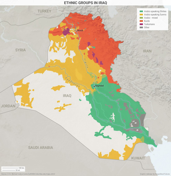 Explaining Mosul in Five Maps | This Week in Geopolitics Investment ...